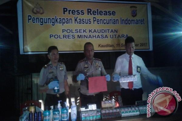Komplotan Maling Dibekuk Polres Minahasa Utara