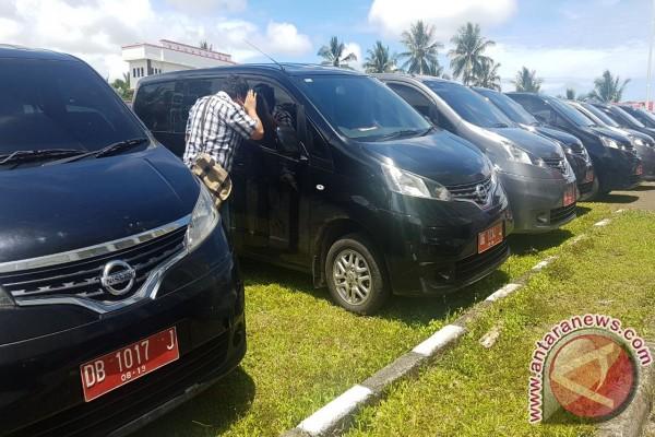 Belasan Mobil Dinas DPRD Minahasa Tenggara Dikembalikan