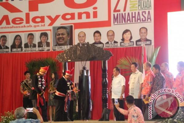 Berlangsung Sukses, Pilkada Serentak 2018 Launching di Minahasa