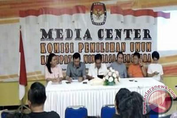 KPU Minahasa Tenggara Harapkan Dukungan Media