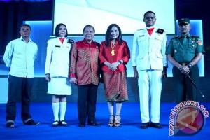 Wali Kota Bitung Hadiri Malam Puncak Penghargaan Prestasi 2017