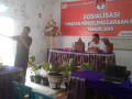 KPUD Minut Sosialisasi Tahapan Pemilu