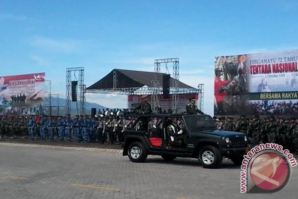 Drama kolosal perjuangan warnai peringatan HUT TNI