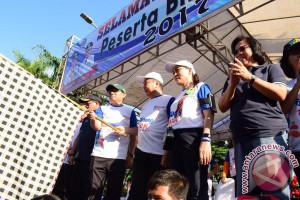 Ribuan Masyarakat Ikuti Lomba Run 10 K