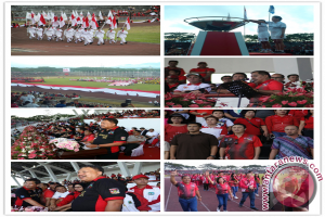 Momen Porprov ke-IX Kebangkitan Olahraga Sulut!
