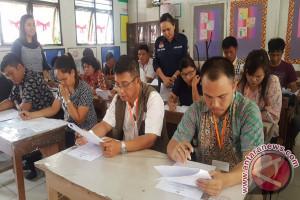 Calon PPK Di Minahasa Tenggara Ikuti Tes Tertulis