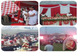 Bela Negara Sukses Digelar, Megawati: Negara Kuat Jika Pancasila Selalu Diajarkan