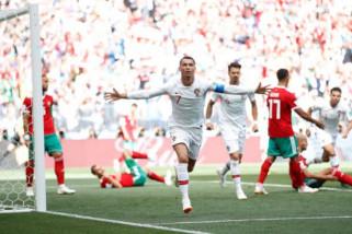 Piala Dunia - Ronaldo cetak gol keempat untuk menangkan Portugal