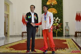 Presiden terima juara dunia lari 100 meter