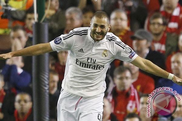 Benzema pastikan Real Madrid tekuk Deportivo 2-0
