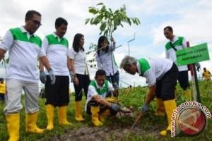 Pertamina bersama Wartawan tanam 2.500 pohon di BIL