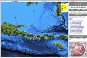 Gempa bumi 4,5 SR guncang Mataram