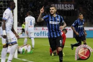 Bungkam Napoli 2-0, Inter Milan dekati zona Liga Champions