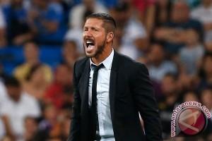 Simeone diusir, Atletico menag 1-0 atas Malaga