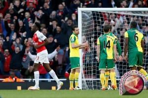 Arsenal ke posisi tiga Liga Primer usai kalahkan Norwich 1-0