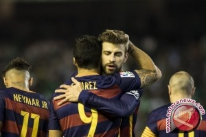 Tekuk Betis 2-0, Barcelona kembali puncaki La Liga