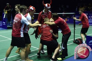 Indonesia gagal juara Piala Thomas, Denmark ciptakan sejarah
