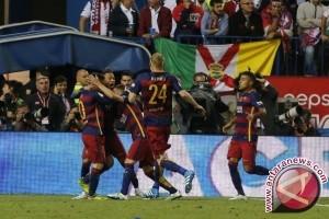 Barcelona pertahankan juara Copa del Rey