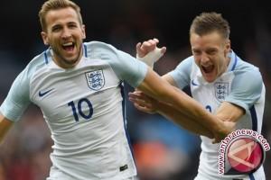 Vardy antar Inggris tekuk Turki 2-1 pada laga persahabatan