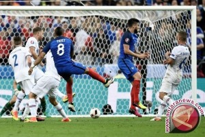 Euro 2016 - Hajar Islandia 5-2, Prancis tantang Jerman di Semifinal