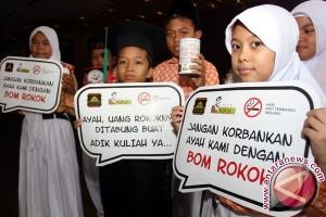 Anak Indonesia minta Presiden Jokowi kendalikan tembakau
