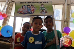 Seribuan anak Indonesia ikuti kirab budaya HAN