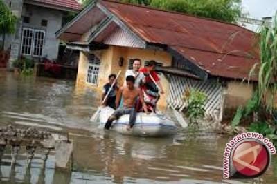 Ratusan Rumah di Lombok Barat Tergenang Banjir
