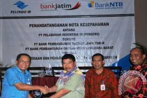 Pelindo III Gandeng Bank NTB dan Jatim