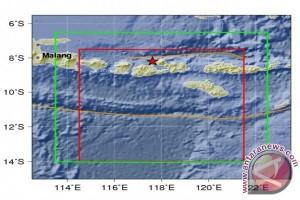 Sumbawa Digetarkan Gempa 3,3 Skala Richter