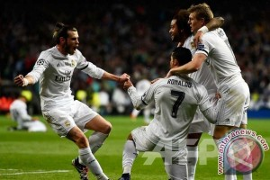 Real Madrid pecundangi Legia 5-1