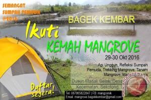 Pemuda Lombok Barat Binaan BPSPL Gelar Kemah Mangrove
