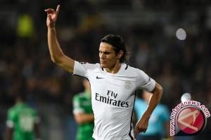 Cavani cetak gol ke-10 untuk PSG saat taklukkan Lille
