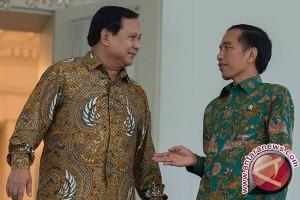 Prabowo sambut Jokowi di Hambalang