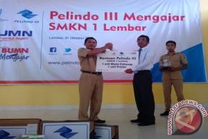Pelindo Lembar Edukasi Pelajar SMK Lombok Barat