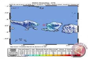 Gempa Bumi Berkekuatan 4,7 SR Guncang Mataram