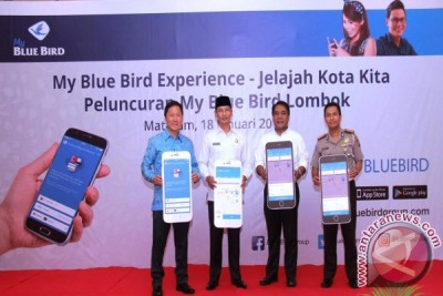 "Dishub NTB Apresiasi Kehadiran Aplikasi Taksi ""My Blue Bird"""