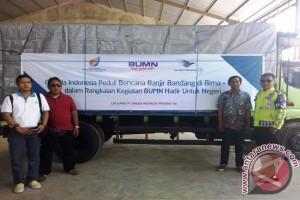 Garuda Salurkan Bantuan Untuk Korban Banjir Bima