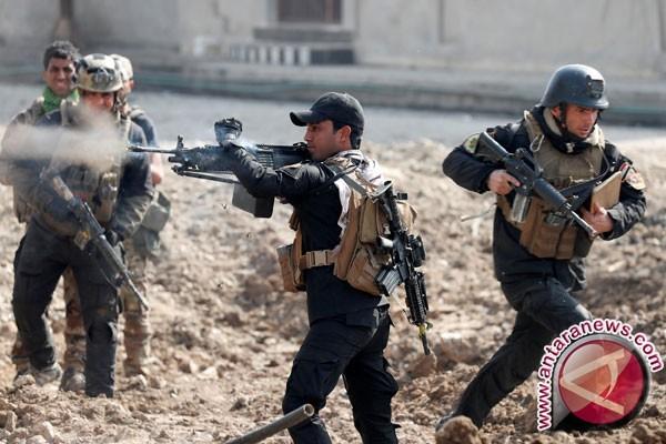 Objek-objek vital ISIS di Mosul direbut kembali pasukan Irak