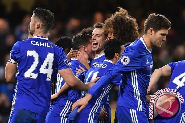 Klasemen Liga Inggris, Chelsea tetap kokoh