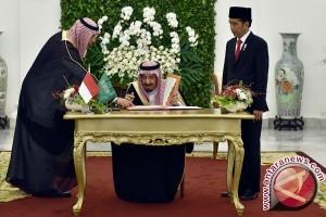 MoU kerja sama RI-Arab Saudi yang ditandatangani hari ini