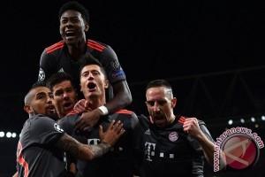 Bayern Muenchen menang agregat 10-2 atas Arsenal