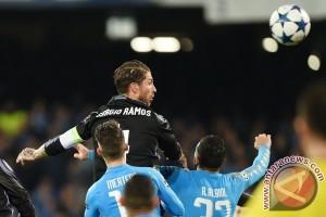 Liga Champions - Sergio Ramos antar Real Madrid melenggang ke perempatfinal