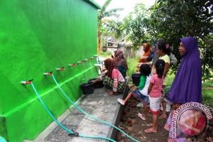Muslim Aid Bangun Penampungan Air Bersih di Lombok Timur