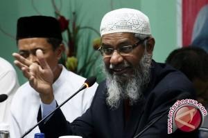 Zakir Nakir terkesan dengan keramahtamahan masyarakat Indonesia