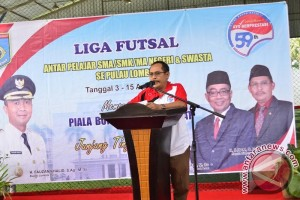 Futsal - Dikpora Lombok Barat Gelar Kejuaraan Antarpelajar