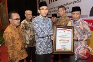 Lombok Barat Peroleh Penghargaan Pencegahaan Pernikahan Anak