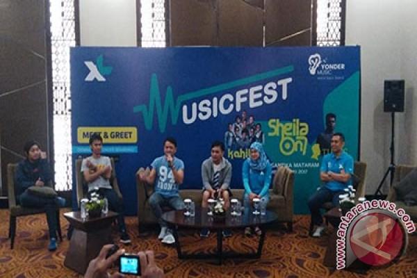 XL-Yonder Music Hadirkan Musisi Idola di Kota Mataram