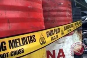 Polisi Temukan Gudang Penimbunan 8.160 Liter Solar