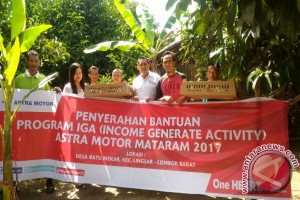 Astra Berdayakan Warga Lombok Barat Berwirausaha Unggas