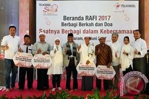 Telkomsel Berikan Bantuan Kepada Empat Pesantren di Lombok